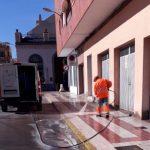 FOBESA refuerza los servicios de limpieza durante las fiestas patronales de Benicàssim