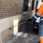 FOBESA despliega un dispositivo especial de limpieza y baldeo en Burriana