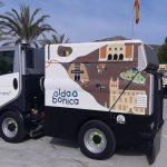 FOBESA presenta los nuevos vehículos de limpieza viaria en Elda